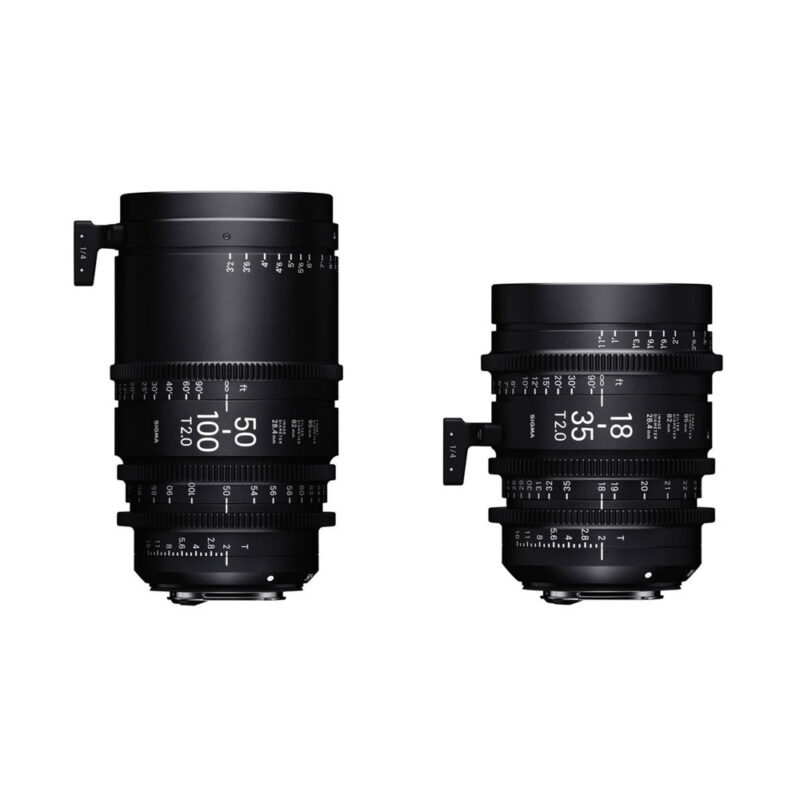 Sigma 18-35mm and 50-100mm EF