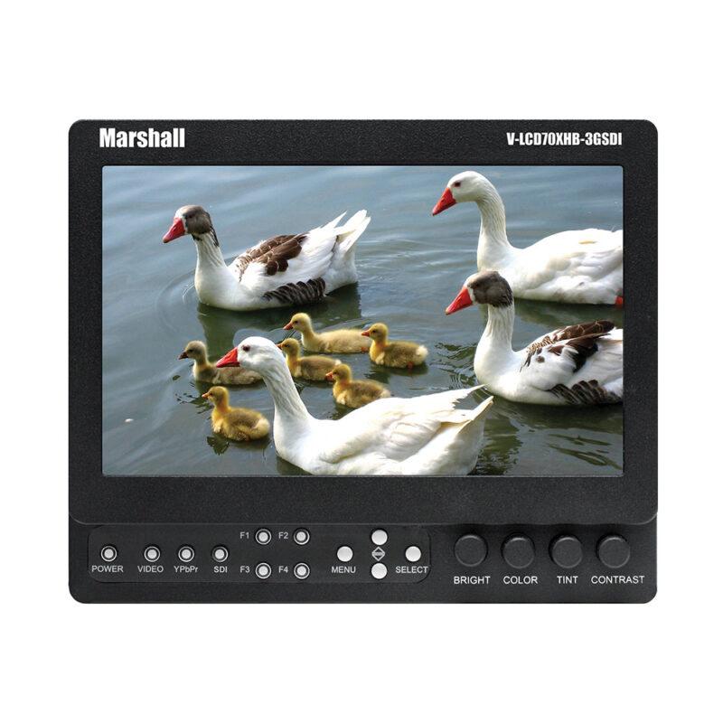 """Marshall V-LCD70Xhb-3GSDI-Sl HD 7"""" LCD SDI"""