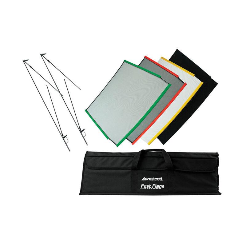 """Westcott 24x36"""" Fast Flag Kit Flag / Net Kit"""