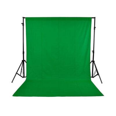 Chromakey Green Fabrick Backdrop