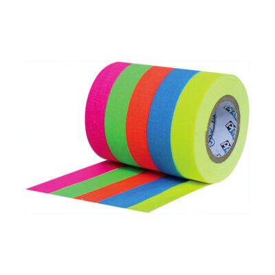 ProTapes Pro Pocket Fluorescent Color Spike Tape Stack Frenel expendables