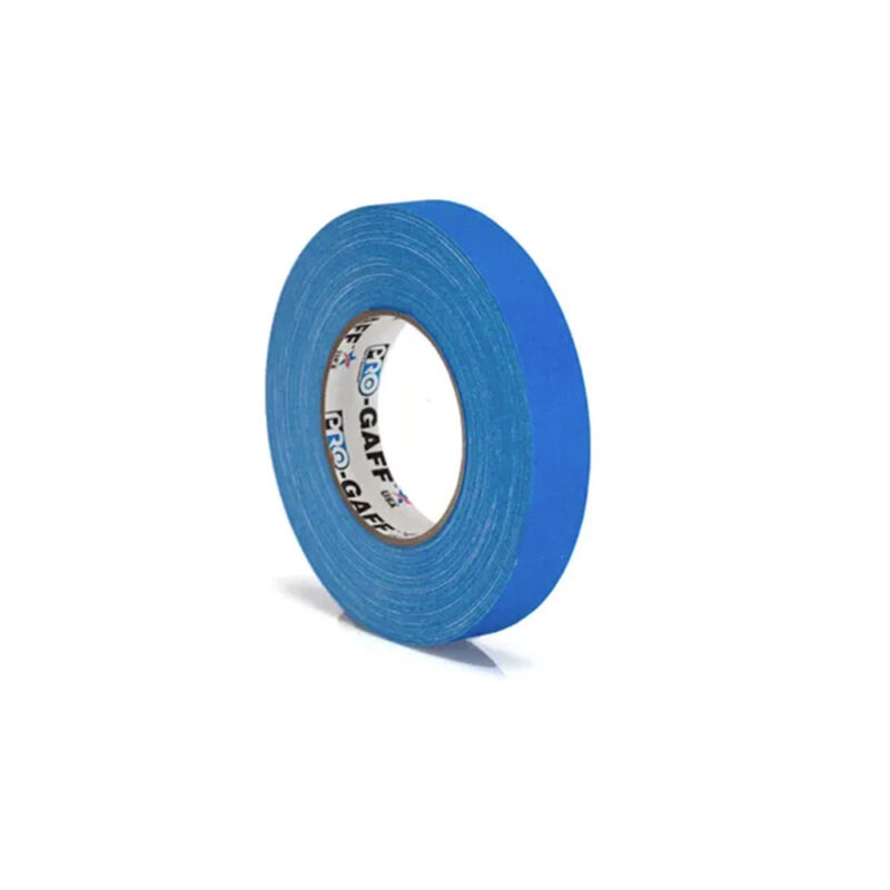 progaff 24 25m electric blue gaffer tape frenel rental expendables