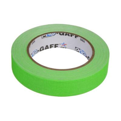 progaff 24 25m fluo green gaffer tape frenel rental expendables