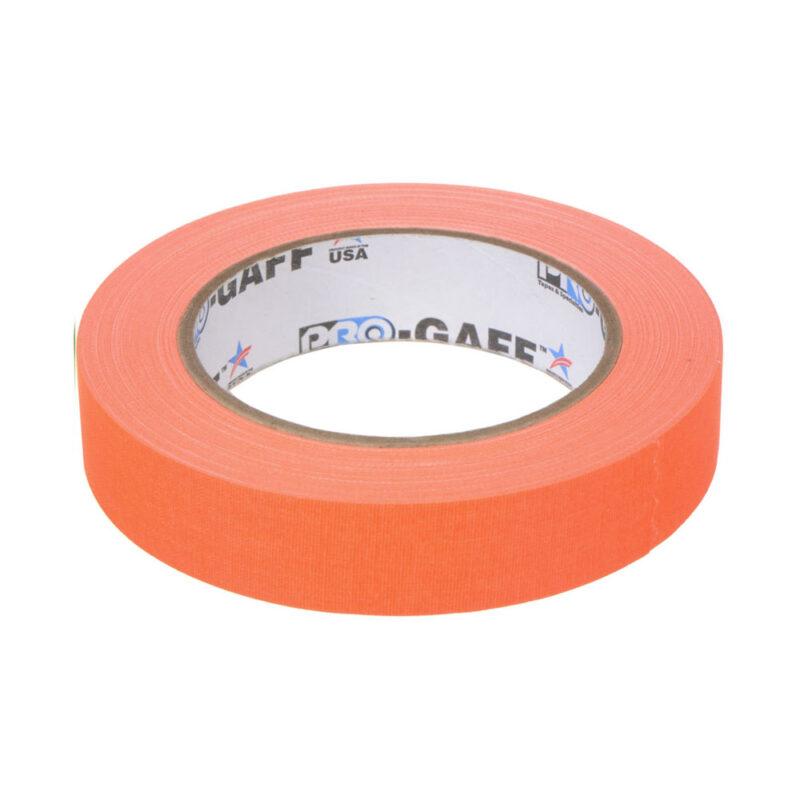 progaff 24 25m fluo orange gaffer tape frenel rental expendables